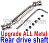 Wltoys 12429 0024 -0025 Upgrade Metal Rear drive shaft assembly-Silver Parts
