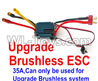 Wltoys 12429 Upgrade 35A ESC(Can only be used for Upgrade Brushless set) Parts