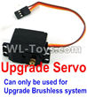 Wltoys 12429 Upgrade Servo(Can only be used for Upgrade Brushless set) Parts