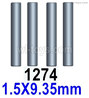Wltoys 144001 Cardan shaft(4pcs)-1.5x9.35mm-144001.1274