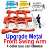Wltoys 144001 Upgrade Front Metal Swing Arm