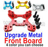Wltoys 144001 Upgrade Metal Front Shock absorber board