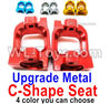 Wltoys 144001 Upgrade Metal C-Shape seat,Door-Shape Seat-2pcs