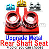 Wltoys 144001 Upgrade Metal Rear Shaft Seat-2pcs
