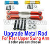 Wltoys 144001 Upgrade Metal Rod for the Rear and Upper Swing Arm-2pcs