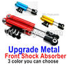 Wltoys 144001 Upgrade Metal Front Shock Absorber(2pcs)-144001.1316