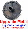 Wltoys 144001 Upgrade Metal Steel Reduction gear. wltoys 144001.1260.