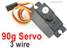 Wltoys 144001 Upgrade Servo. The Torque is 17g with 3 Wire.