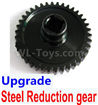 Wltoys 184012 Parts-18-04 Wltoys A949 Parts-13 Upgrade Steel Reduction gear-Black,Wltoys 184012 Rc Racing Car Truck Spare Parts,High speed Wltoys 184012 1:18 Scale 4wd,2.4G Spare Parts Accessories,F1 184012 On Road Drift Racing Truck Car Parts