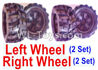 Wltoys 18405 Whole Left and Right wheel unit-(2 set Left and 2 set Right)
