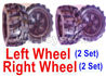 Wltoys 18409 Whole Left and Right wheel unit-(2 set Left and 2 set Right)