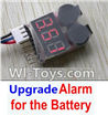 Wltoys A202 A212 A222 Upgrade Alarm for the Battery,Can test whether your battery has enouth power(During 50M Distance)