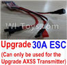 Wltoys A202 A212 A222 Upgrade 30A ESC(Can only be used for Upgrade Circuit board and AX5S circuit board)