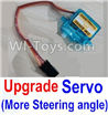 Wltoys A202 A212 A222 Upgrade Servo(More Steering angle,More Cheap price)