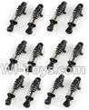 Wltoys A202 A212 A222 Car shock absorbers(12pcs)