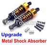 Wltoys A949 Upgrade Metal Shock Absorber(2pcs)-Yellow,Wltoys A949 RC Car Parts ,Wltoys 1/18 rc Truck and rc racing car Replace Parts