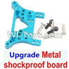 Wltoys A949 Upgrade Metal shockproof board-Blue,Wltoys A949 RC Car Parts ,Wltoys 1/18 rc Truck and rc racing car Replace Parts