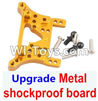 Wltoys A949 Upgrade Metal shockproof board-Gold,Wltoys A949 RC Car Parts ,Wltoys 1/18 rc Truck and rc racing car Replace Parts