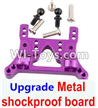 Wltoys A949 Upgrade Metal shockproof board-Purple,Wltoys A949 RC Car Parts ,Wltoys 1/18 rc Truck and rc racing car Replace Parts