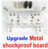 Wltoys A949 Upgrade Metal shockproof board-Silver,Wltoys A949 RC Car Parts ,Wltoys 1/18 rc Truck and rc racing car Replace Parts