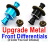 Wltoys A959B A959-B Upgrade Metal Front Differentials,Can be used for A959 A959B A959-B