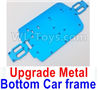 Wltoys A979-B Upgrade Metal Bottom Car frame,Upgrade Metal Baseboard-Blue,Wltoys A979-B Rc Car Truck Spare Parts,High speed 1:18 Scale 4wd,2.4G A979-B rc racing car Spare Parts Accessories,On Road Drift Racing Truck Car Parts