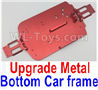 Wltoys A959 Upgrade Metal Bottom Car frame Parts,Upgrade Metal Baseboard-Red,