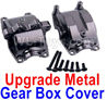 Wltoys A959 Upgrade Metal Gear box cover Parts,