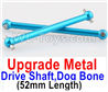 Wltoys A979-B Upgrade Metal Drive Shaft,Dog Bone(2pcs)-Blue,Wltoys A979-B Rc Car Truck Spare Parts,High speed 1:18 Scale 4wd,2.4G A979-B rc racing car Spare Parts Accessories,On Road Drift Racing Truck Car Parts
