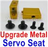 Wltoys A959 Upgrade Metal Servo Seat Parts-Yellow,