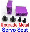 Wltoys A959 Upgrade Metal Servo Seat Parts-Purple,