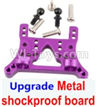 Wltoys A959B A959-B Upgrade Metal Front or Rear shockproof board-Purple Parts,Wltoys A959B A959-B Parts