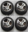 Wltoys A959 Official Wheel(2pcs Left and 2pcs Right Wheel) Parts,(Both for A959 A959B)