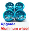 Wltoys A969-B Upgrade Aluminum wheel(4pcs-Not include the Tire leather)