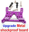 Wltoys A969-B Upgrade Metal Front or Rear shockproof board-Purple