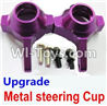 Wltoys A969 Parts-70 Upgrade Metal steering Cup-Purple For Wltoys A969 desert rc trunk parts,rc car and rc racing car Parts