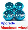 Wltoys A979-B Upgrade Aluminum wheel(4pcs-Not include the Tire leather) For Wltoys A979-B Rc Car Parts,High speed 1:18 Scale 4wd,2.4G A979-B rc racing car Parts,On Road Drift Racing Truck Car Parts