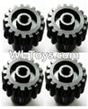 Wltoys A979-B Copper motor Gear(4pcs)-0.7 Modulus-27 Teeth For Wltoys A979-B Rc Car Parts,High speed 1:18 Scale 4wd,2.4G A979-B rc racing car Parts,On Road Drift Racing Truck Car Parts