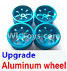 Wltoys A979 Upgrade Aluminum wheel(4pcs-Not include the Tire leather)
