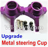Wltoys K929 Upgrade Metal steering Cup-Purple,Wltoys K929 desert RC Truck Parts,1:18 rc car and rc racing car Parts