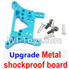 Wltoys K929 Upgrade Metal shockproof board-Blue,Wltoys K929 desert RC Truck Parts,1:18 rc car and rc racing car Parts