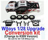 Wltoys K999 Upgrade Conversion kit-Upgrade K999 Version,Be suit for All Wltoys 1/28 Wltoys Car