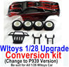 Wltoys K999 Upgrade Conversion kit-Upgrade P939 Version-Red color,Be suit for All Wltoys 1/28 Wltoys Car