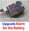 Wltoys L323 Upgrade Alarm for the Battery,Can test whether your battery has enouth power