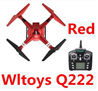 Wltoys Q222 Quadcopter-Red(Not include the Camera unit),Wltoys Q222 RC Drone Medium-Quadcopter-all FPV-Quadcopter-all Wltoys-Quadcopter-all