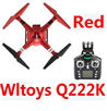 Wltoys Q222K Quadcopter-RED(Include the Wifi Camera and Support frame.Can use your Wifi to view the 5.8G Real-time image transmission FPV Aerial Video) Medium-Quadcopter-all FPV-Quadcopter-all Wltoys-Quadcopter-all