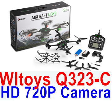 Wltoys Q323C Q323-C Wifi Quadcopter (Include the HD 720P Camera unit ),Wltoys Q323 RC Quadcopter Drone Medium-Quadcopter-all FPV-Quadcopter-all Wltoys-Quadcopter-all