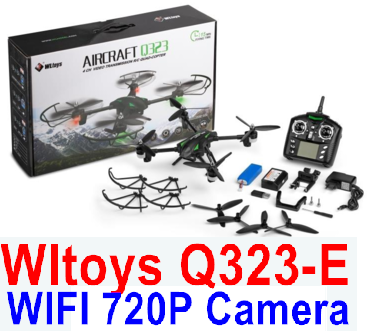 Wltoys Q323-E Quadcopter (Include the HD Wifi 720P Camera unit and Mobile phone support frame),Wltoys Q323 RC Quadcopter Drone Medium-Quadcopter-all FPV-Quadcopter-all Wltoys-Quadcopter-all