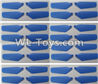 Wltoys Q626 Q626-B Parts-09-02 Main rotor blades,Propellers(32pcs)-Blue,Wltoys Q626 Q626-B RC Quadcopter Drone Spare Parts Accessories,Wltoys Model Q626 Replacement Accessories