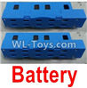 Wltoys Q626 Q626-B Parts-12-02 LI-Poli Battery(2pcs)-Blue,Wltoys Q626 Q626-B RC Quadcopter Drone Spare Parts Accessories,Wltoys Model Q626 Replacement Accessories
